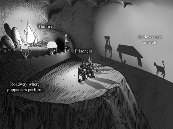 柏拉圖的洞穴隱喻和愛情觀 - 華發網繁體版