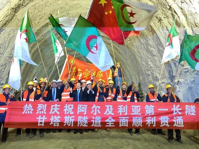 """北非最長隧道貫通,未來之光""""照亮中非合作之路 - 華發網繁體版"""
