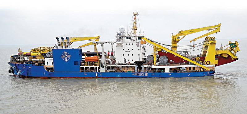 亞洲最大造島神器「天鯤號」海試