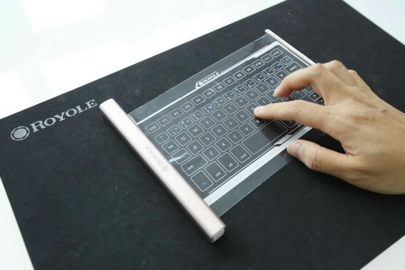 科企研柔性顯示屏 未來手機可戴上身