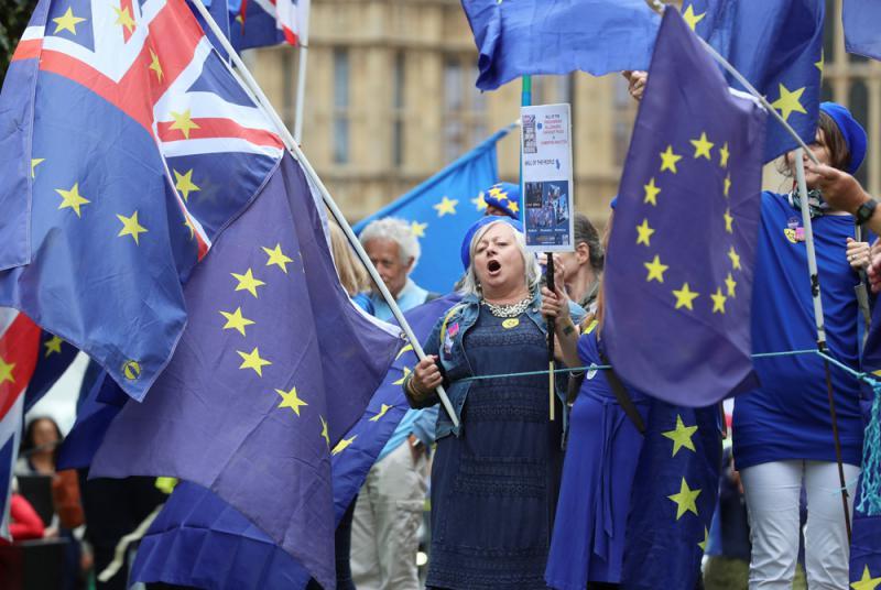 英下院表決脫歐 文翠珊險勝