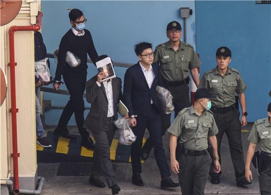 梁天琦1項未達裁決控罪 法院下月處理是否與另案合併