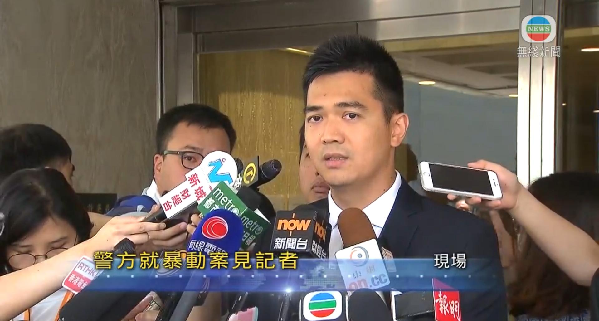 「旺暴」梁天琦囚6年 港警:對暴力必果斷執法