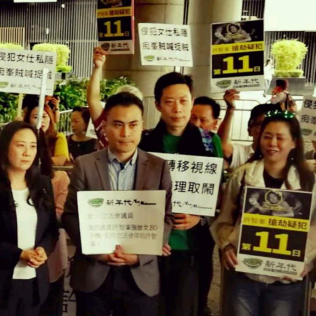 同心護港:香港的希望,愛國的香港人  (簡介)-華發網繁體版