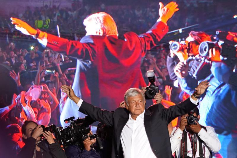 墨西哥今迎大選 或變天向左轉