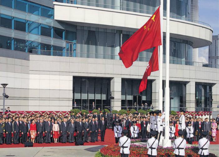 國歌法立法不容反對派阻撓-華發網繁體版