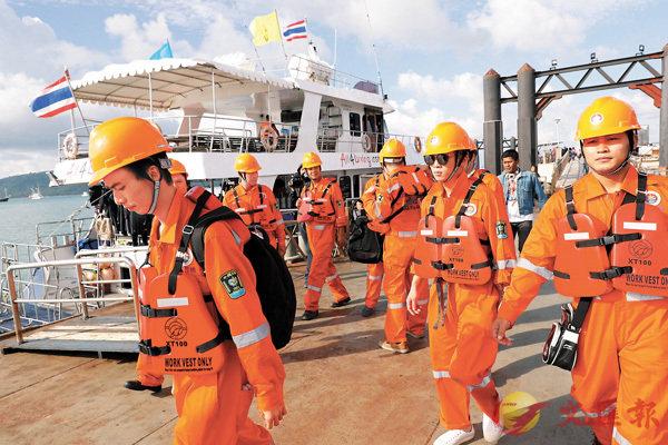 兩中國救援隊加入布吉翻船打撈作業 - 華發網繁體版