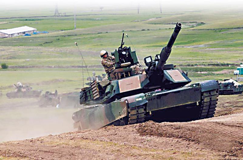 台軍擬耗資77億購百輛美戰車