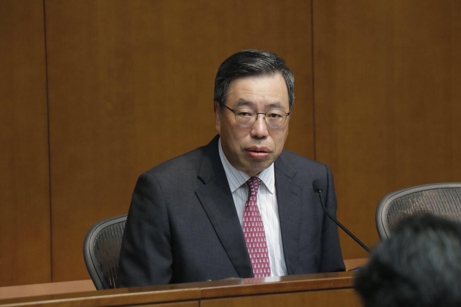 立法會主席年結 梁君彥:依基本法和議事規則裁決