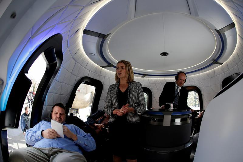 貝索斯送人上太空 旅費156萬起 - 華發網繁體版