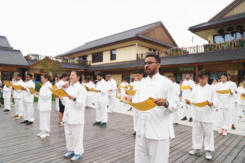 25國大學生聚西安 體驗中華文化