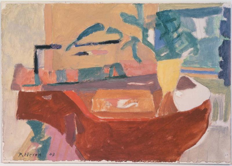 Patrick Heron:具象與抽象之間