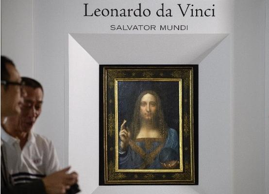 價值35億名畫《救世主》專家稱非達芬奇真跡