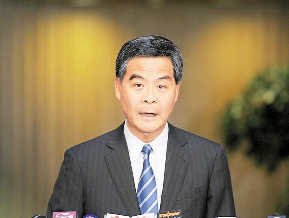 梁振英:FCC在香港權利不能逾越23條