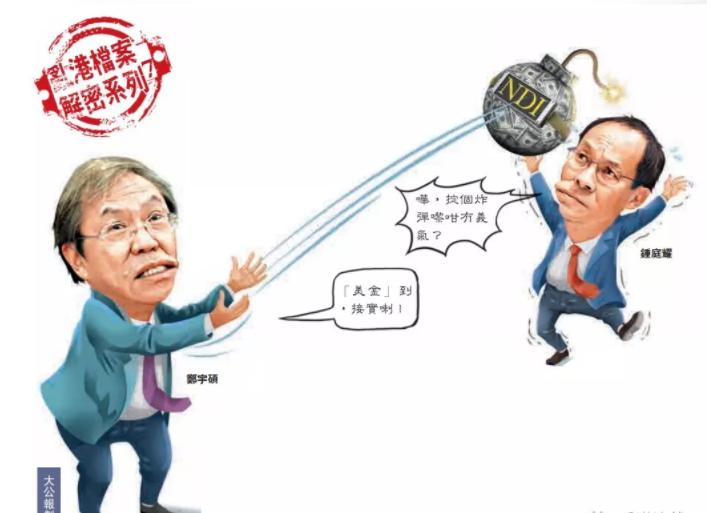 獨家揭秘|鄭宇碩保「風雲」 「美金」炸彈拋鍾庭耀