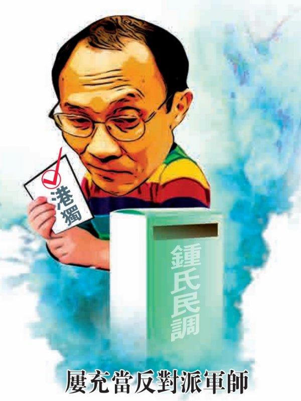 「鍾氏民調」播「獨」 搞足25年