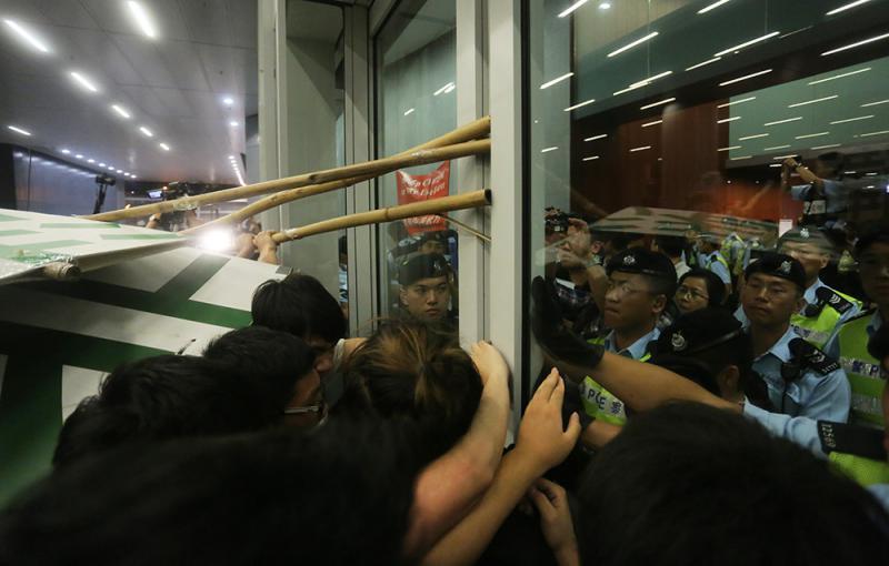 反東北衝立會案 馬道立:明顯涉及暴力