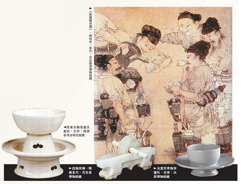 一盌分來百越春,煎茶幾啜淥瓷甌──宋代瓷質茶具賞析