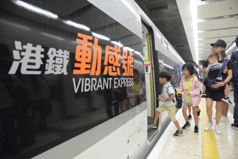 英智庫:港高鐵增大灣區競爭力