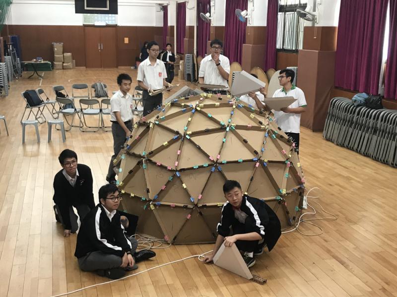 新民書院1500元打造天文館 開展STEM教育