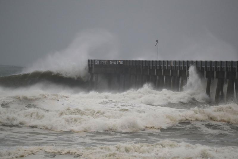 颶風「邁克爾」登美 佛州進緊急狀態