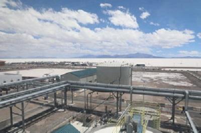 烏尤尼鉀鹽廠投産 玻利維亞首次擁有本國鉀鹽廠