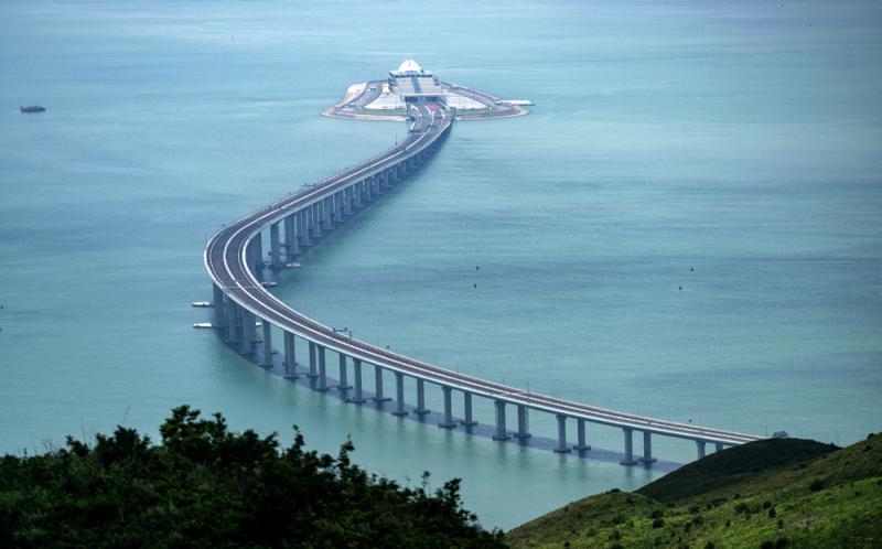 與港珠澳大橋有緣