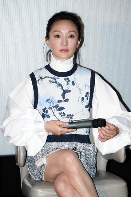 《妳好,之華》上海路演 周迅:在生命階段看到這樣的故事很珍惜
