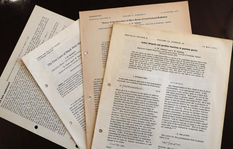 霍金遺物拍賣 論文600萬落槌-華發網繁體版