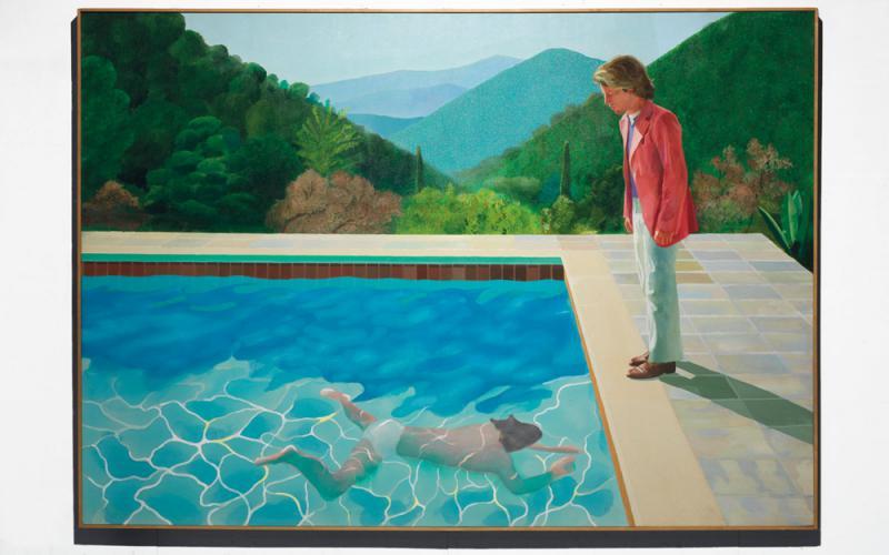 畫泳池的大衛霍克尼 - 華發網繁體版