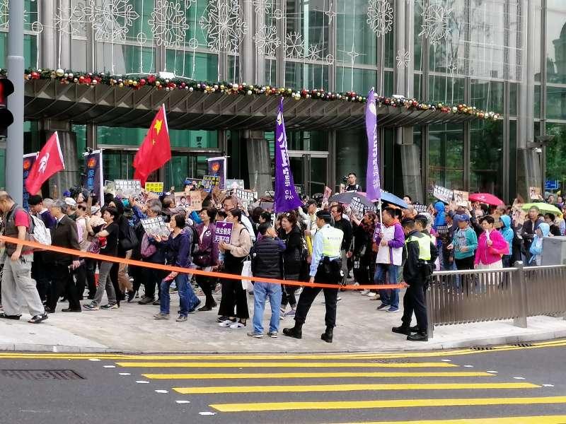 保衛香港運動 主辦「強烈譴責泛民賊喊捉賊」集會-華發網繁體版