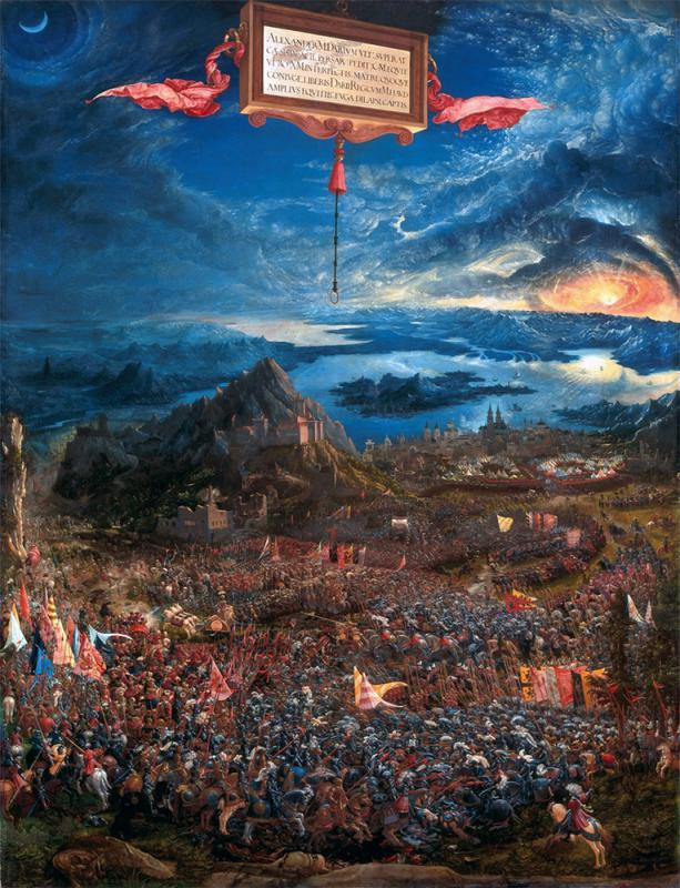 經典名作之《亞歷山大的伊蘇斯之戰》 - 華發網繁體版