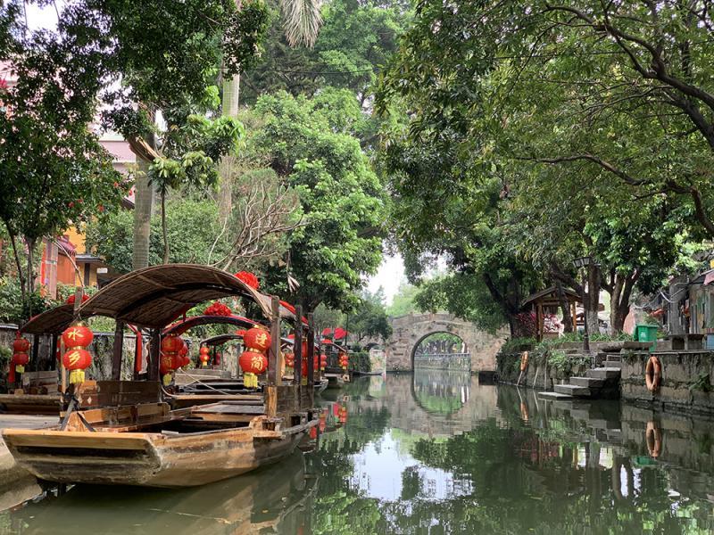 舟遊逢簡覽風光 - 華發網繁體版