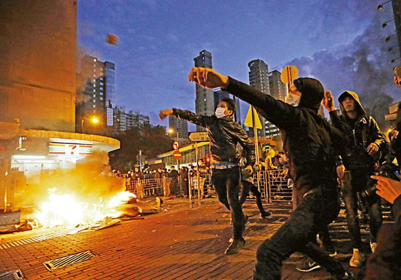 容不下德國暴徒 容得下香港暴徒? - 華發網繁體版