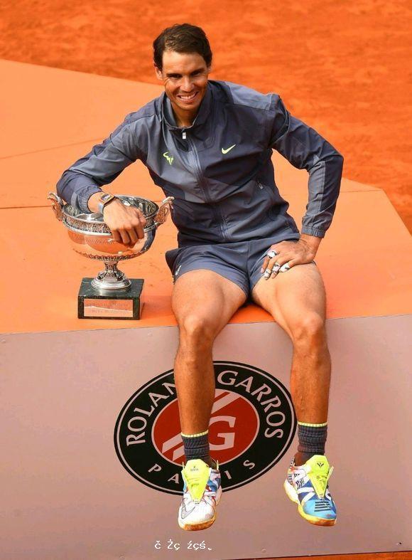 ATP最新世界排名:納達爾法網奪冠坐穩第2,卡恰諾夫首次殺入前10