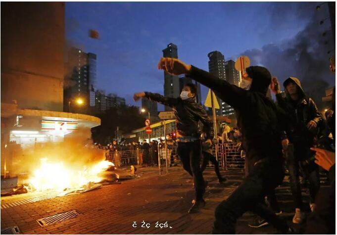 """就是這""""四害""""引起的香港暴亂!"""