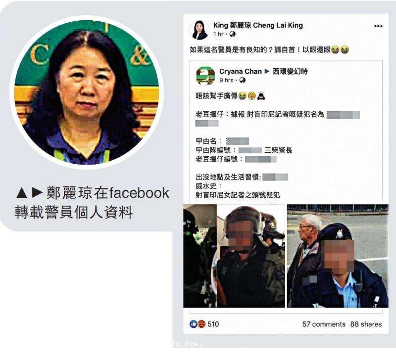 調查報道\鄭麗瓊違臨時禁令:使唔使坐監?