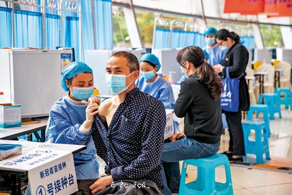 國產疫苗內地接種全球供應雙破億