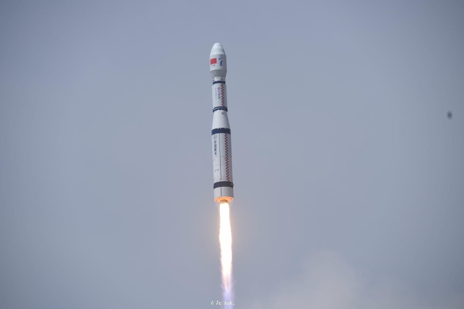 中國「共享火箭」發射成功 金紫荊一號雙星擬服務大灣區