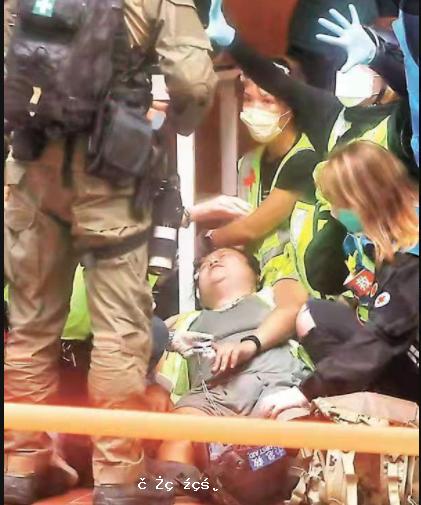 涉商場內辱國歌 網媒「記者」被捕