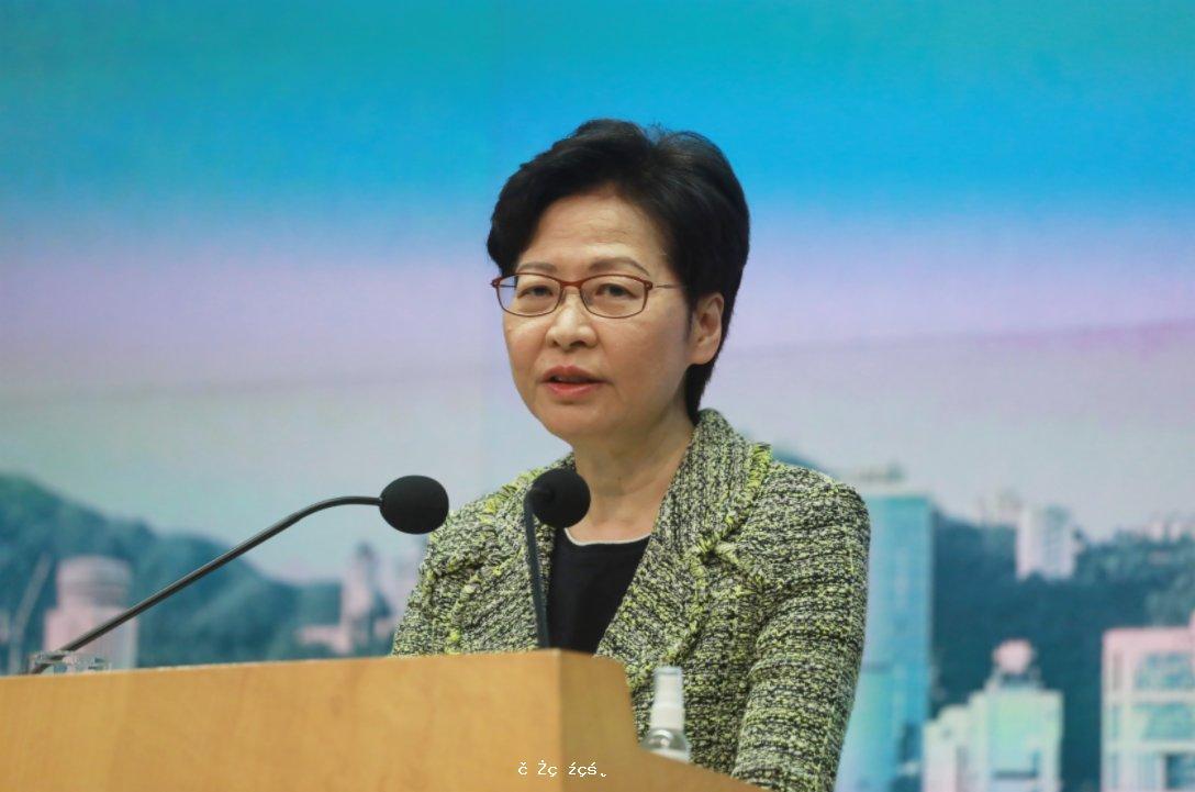 林鄭月娥:破壞國安不能接受 有信心警方妥當運用權力