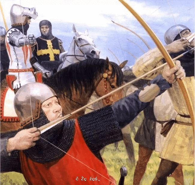 英國的長弓兵是世界最強嗎?1346年8月27日克雷西戰役法軍慘敗
