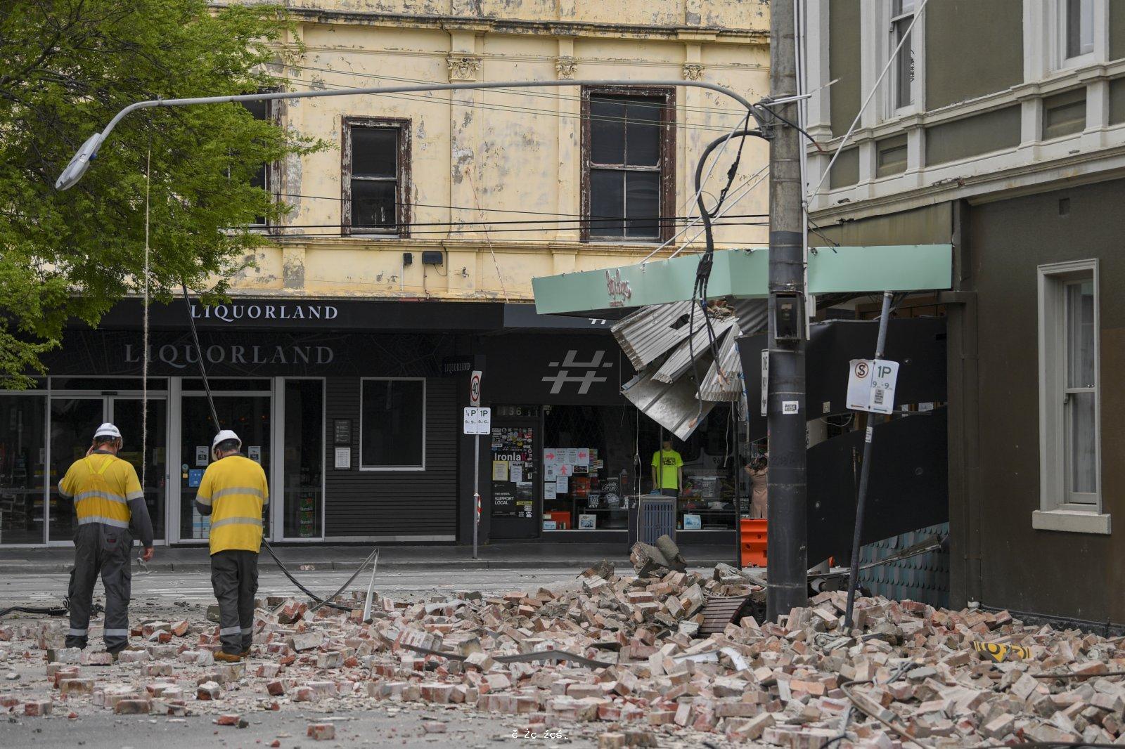 澳洲發生5.8級地震 駐墨爾本總領館提醒中國公民防範