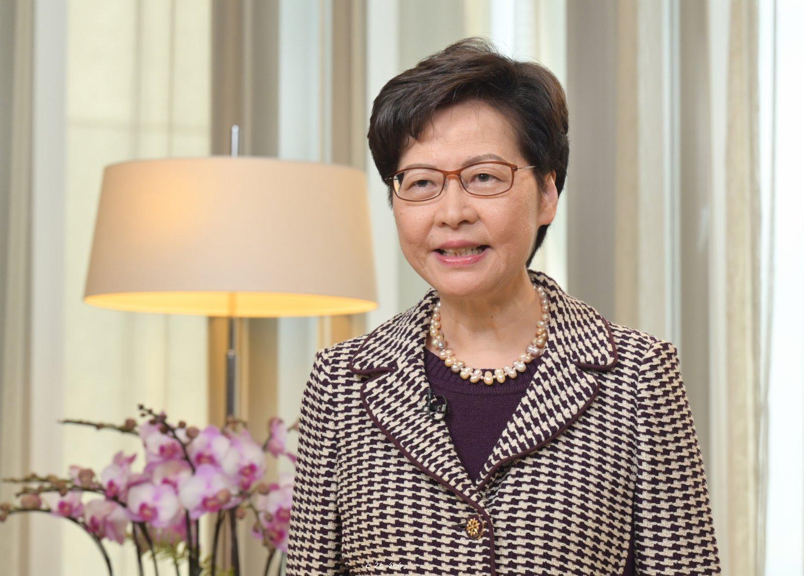林鄭:深信港人會把握「十四五」機遇 積極參與大灣區建設