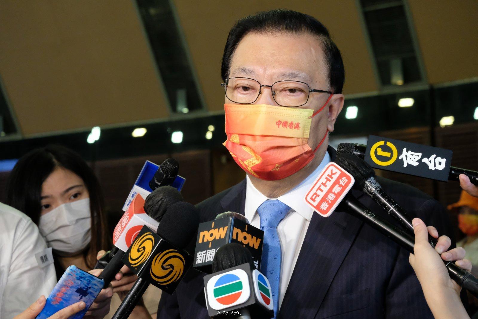 煽動罪或納23條立法 譚耀宗:當局會考慮現行法例不足地方
