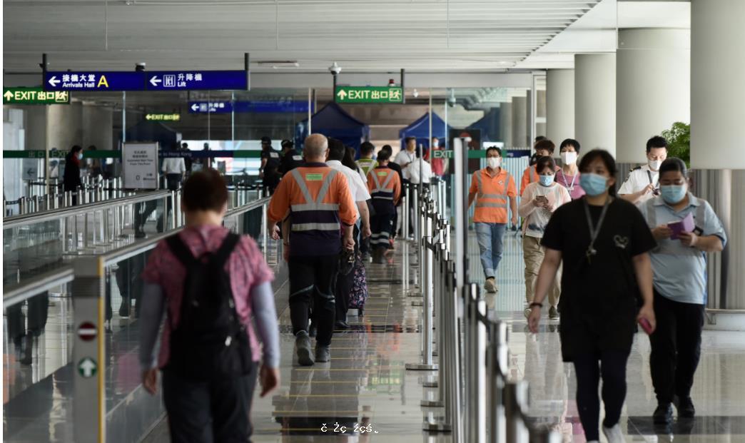 香港新增5宗輸入個案 患者均已接種疫苗