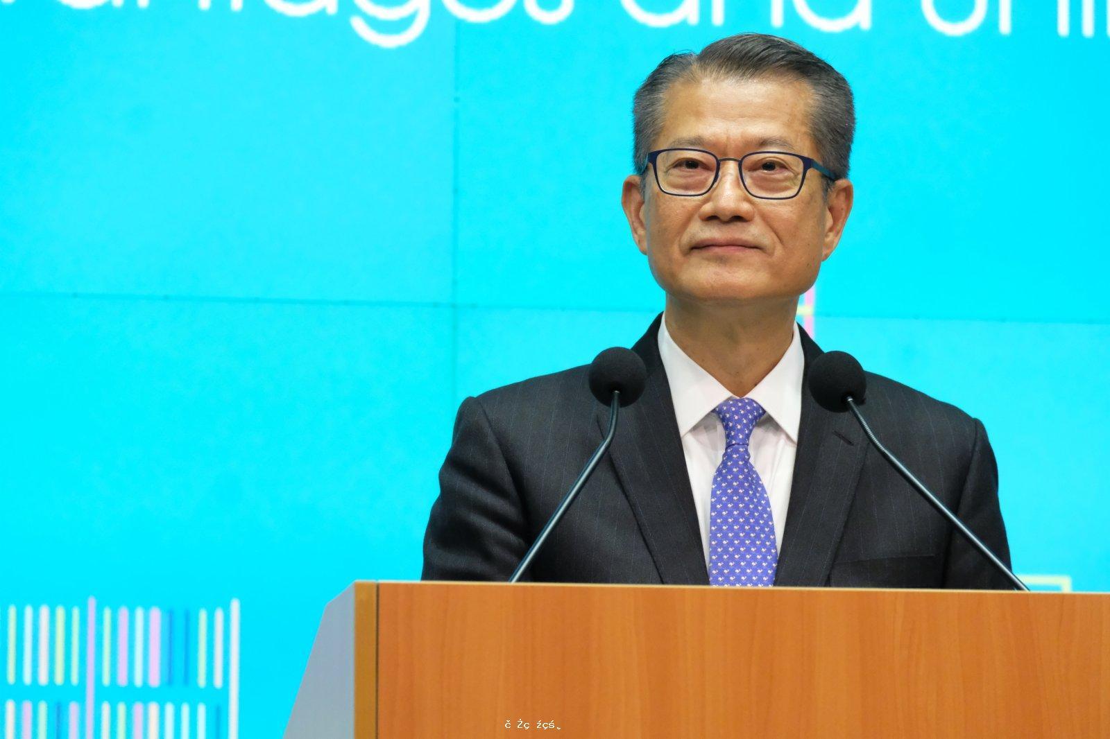 陳茂波:「南金融北創科」雙重心布局 有效配置資源營造宜居環境