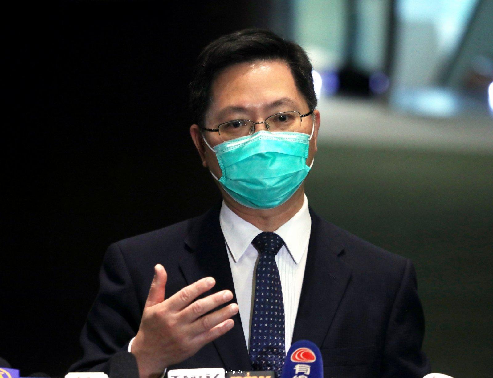 薛永恒:與內地專家研加強健康碼涵蓋範圍