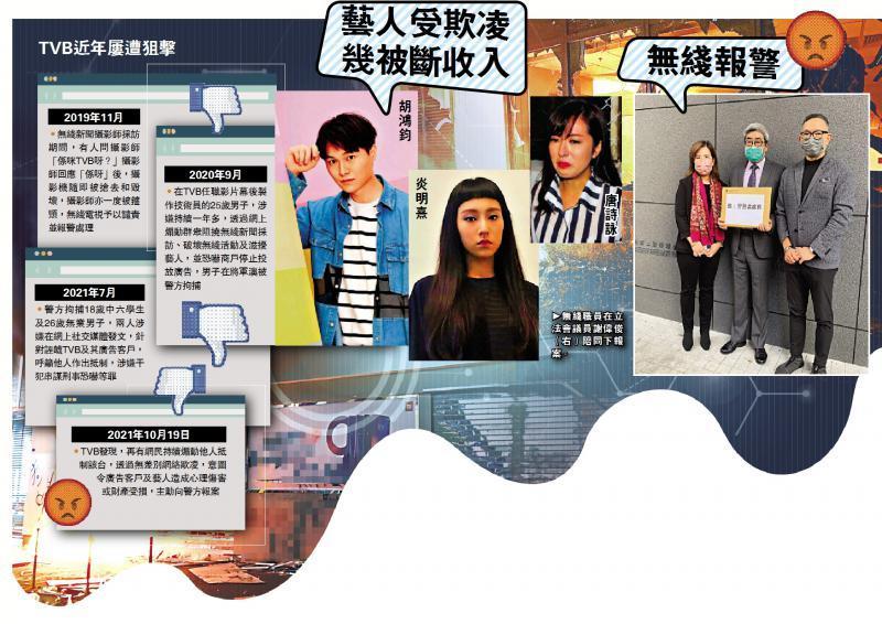 滋擾不絕/黑色網暴重臨 TVB促警執法