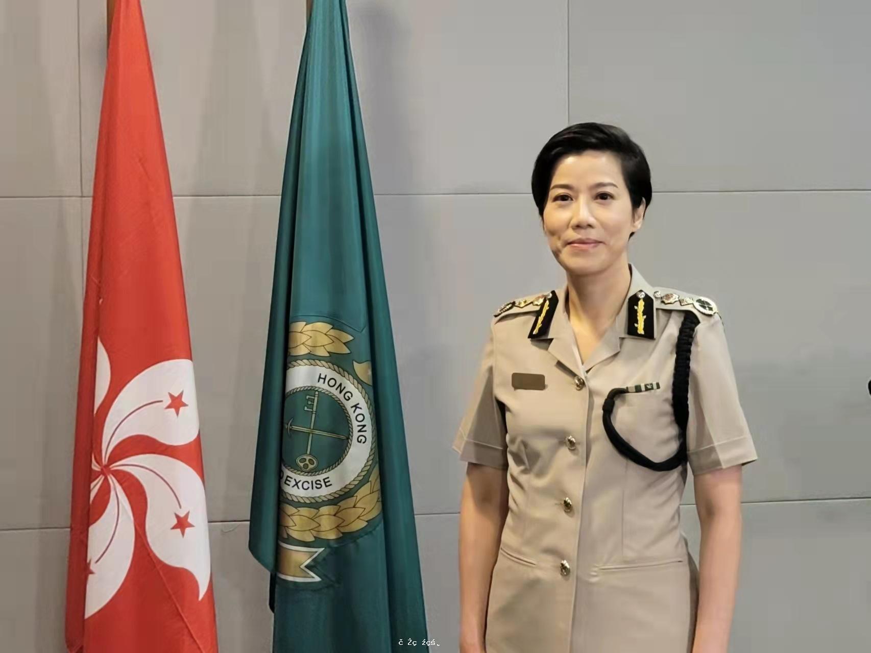 何珮珊:獲任海關關長感榮幸 會致力維護國安防範恐怖主義